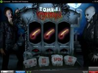 Zombies and Vampires 888 Slot Slot Reels