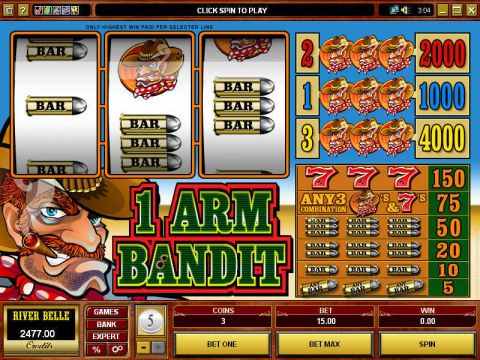 1 Arm Bandit Microgaming Slot Slot Reels