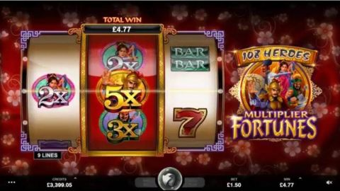 108 Heroes™ Slot Machine Game to Play Free in Microgamings Online Casinos