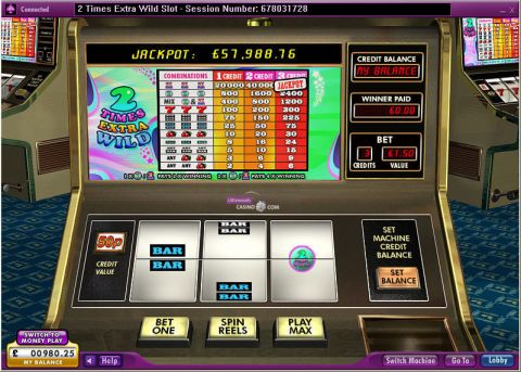 2 Times Extra Wild 888 Slot Slot Reels