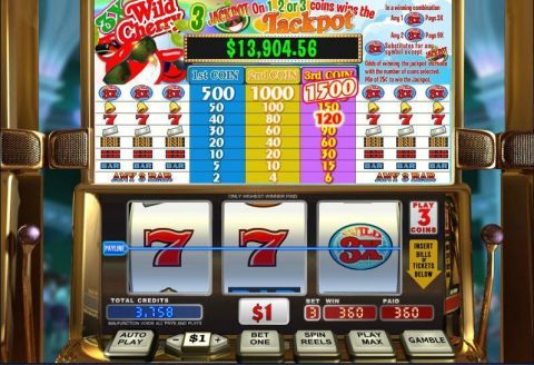 3X Wild Cherry WGS Technology Slot Slot Reels