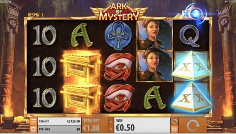 Ark of Mystery Quickspin Slot Slot Reels