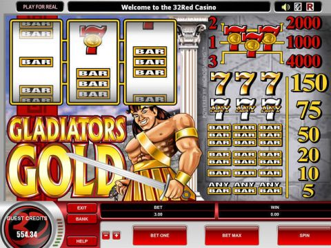Gladiator's Gold Microgaming Slot Slot Reels