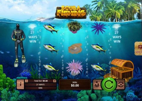 Scuba Fishing RTG Slot Slot Reels