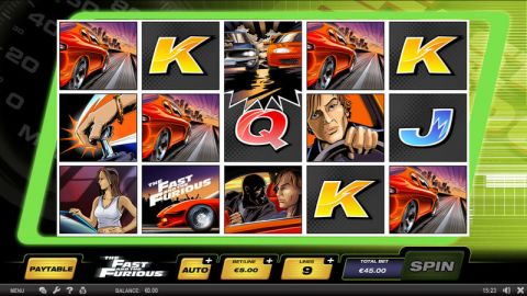 The Fast and the Furious SPIELO G2 Slot Slot Reels