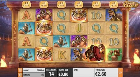 Tiger's Glory Quickspin Slot Slot Reels