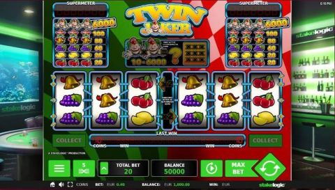 Twin Joker StakeLogic Slot Slot Reels