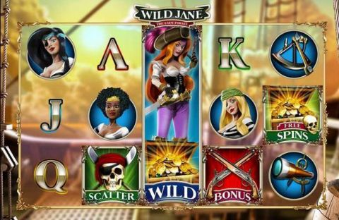 Wild Jane, the Lady Pirate  Leander Games   Slot   Slot Reels