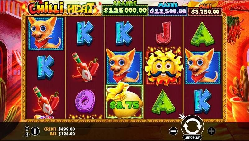 Chilli Heat Pragmatic Play Slot Slot Reels