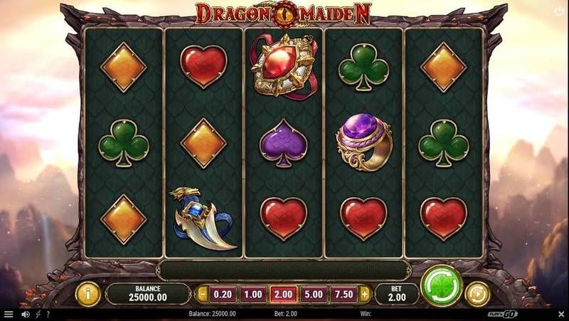 Dragon Maiden Slots - 5 Reel/243 Line by Play'n GO
