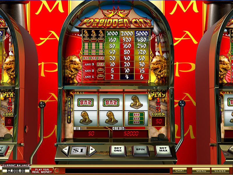 Forbidden City PlayTech Slot Slot Reels
