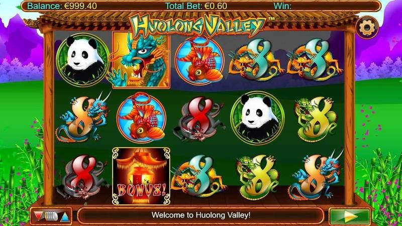 Huolong Valley Nyx Interactive Slot Slot Reels