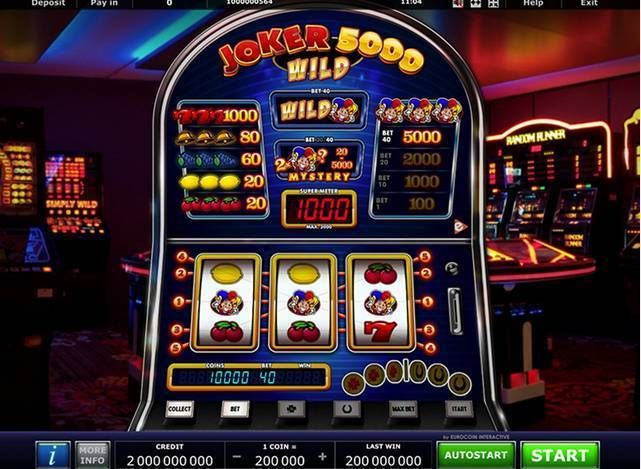 Joker 5000 Wild Greentube Slot Slot Reels