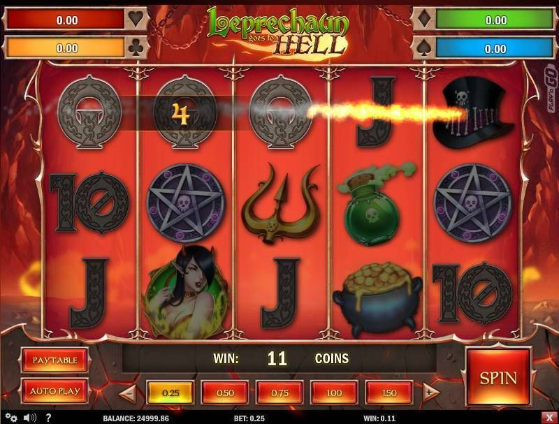 Leprechaun goes to Hell Play'n GO Slot Slot Reels