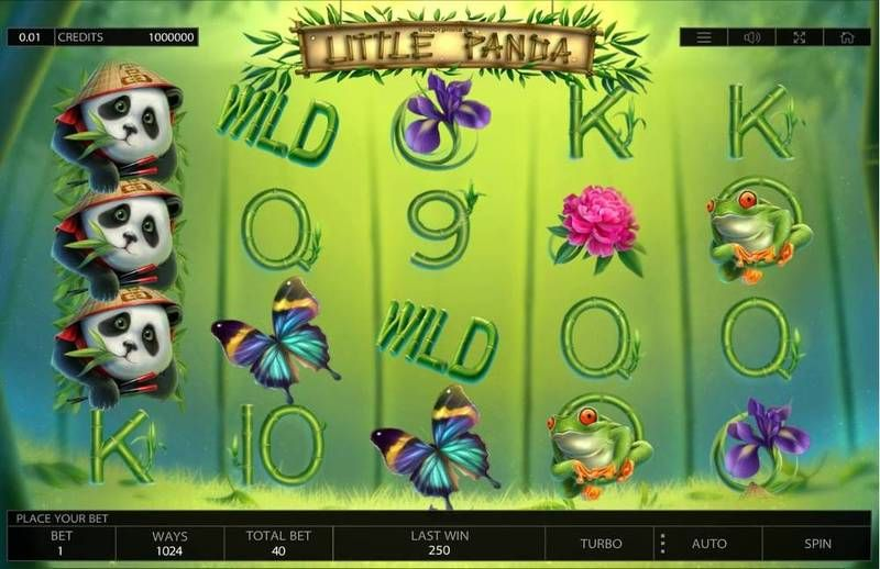 Little Panda Endorphina Slot Slot Reels