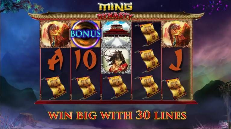 Ming Dynasty 2 by 2 Gaming Slot Slot Reels