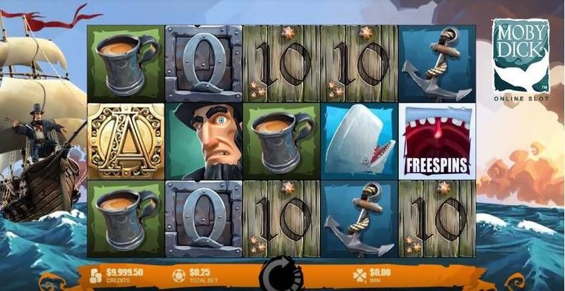 Moby Dick Microgaming Slot Slot Reels