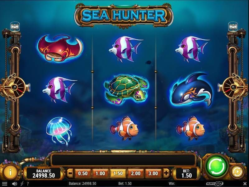 Sea Hunter Play'n GO Slot Slot Reels