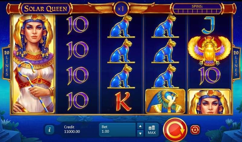 Solar Queen Playson Slot Slot Reels
