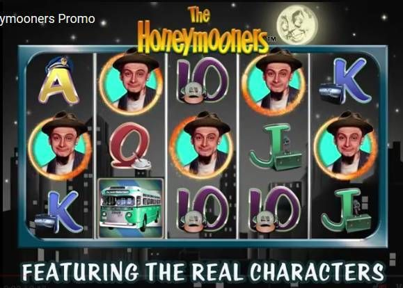The Honeymooners 2 by 2 Gaming Slot Slot Reels