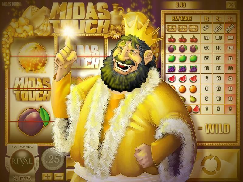 Midas Touch  Rival   Slot   Winning
